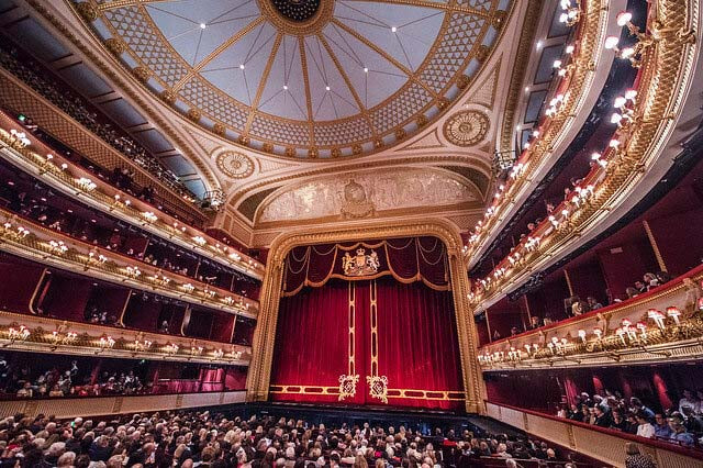 The auditorium of the Royal Opera House © ROH 2016