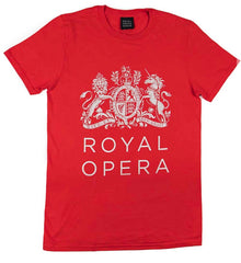 Royal Opera Red t-shirt from Kingfisher Giftwear