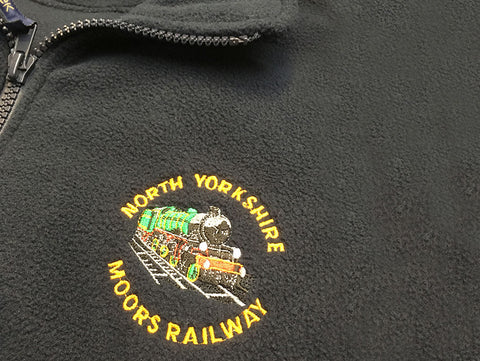 Embroidery for North Yorkshire Moors Railway