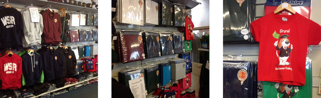 Steam Railway shops stocked by Kingfisher Giftwear
