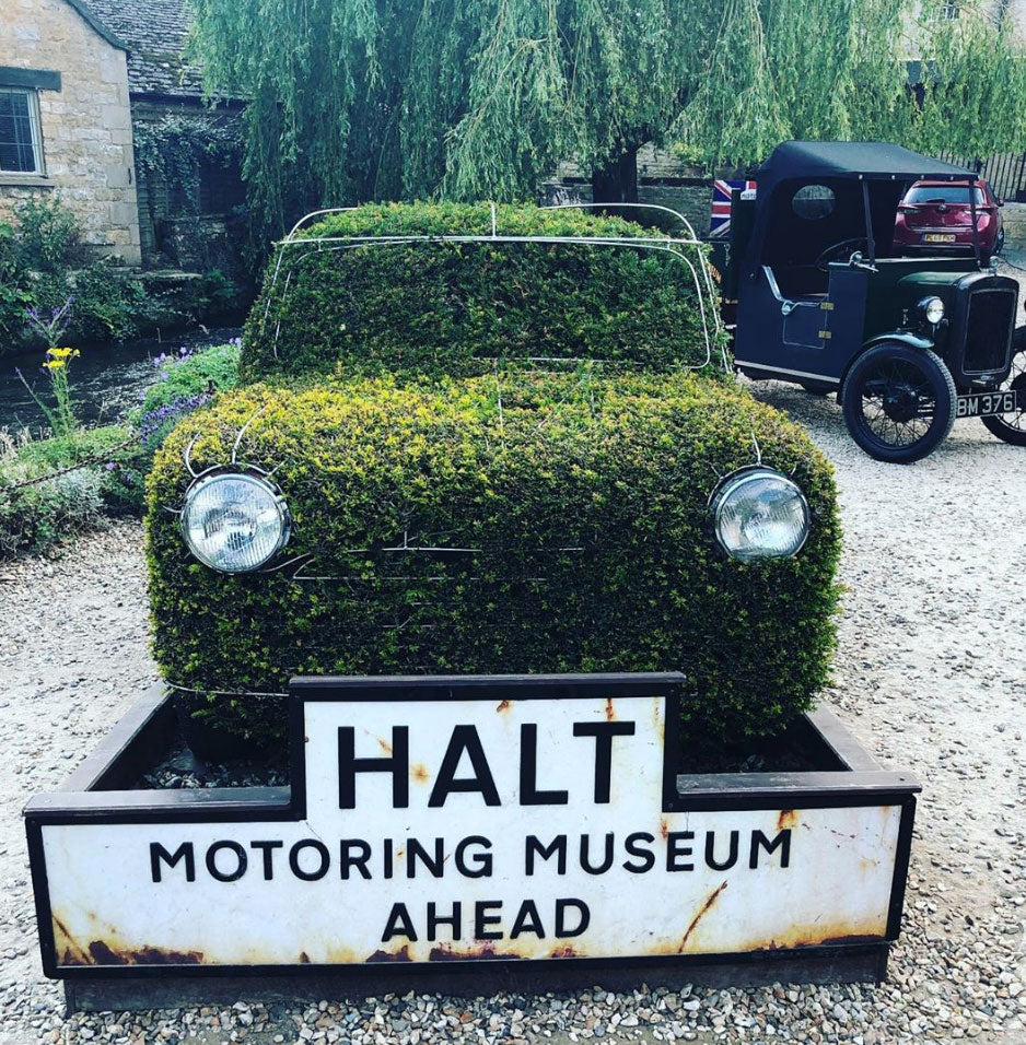 Paying homage to the mini at the Cotswold Motoring Museum supplied by Kingfisher Giftwear