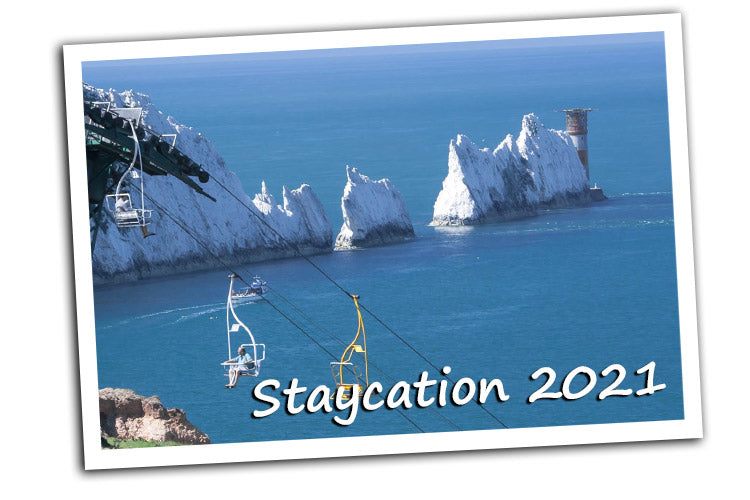 Staycation 2021: The Needles Isle of Wight, supplied by Kingfisher Giftwear