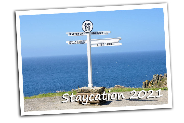 Staycation 2021: Kingfisher Giftwear supply garments to Lands Ends visitor attraction