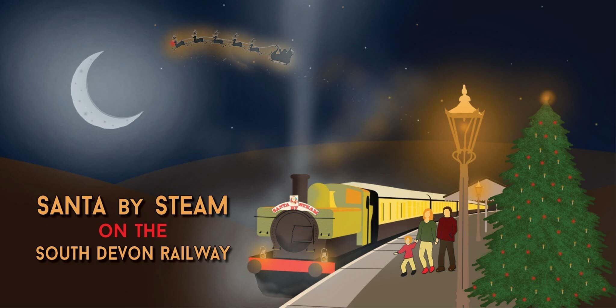 Steam trains and Santa specials with Kingfisher Giftwear