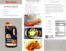 Load image into Gallery viewer, Teppan sauce