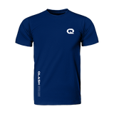 Blue Minimal QLASH Tee