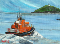 Ballycotton Lifeboat - The Art of Phil Davis
