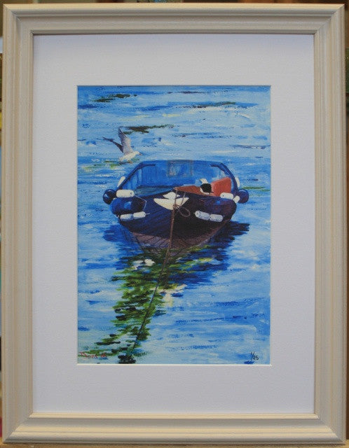 Ballycotton Lifeboat Punt - The Art of Phil Davis