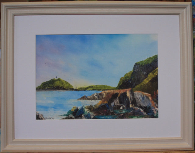 Ballycotton from the rocks - The Art of Phil Davis