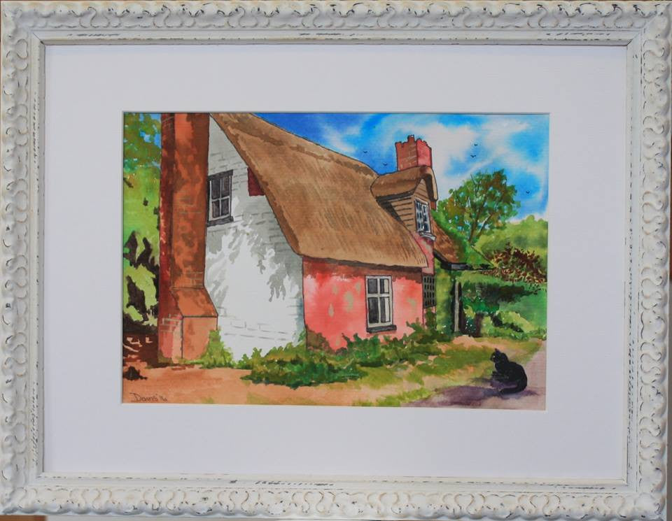 Derelict cottage 4 - The Art of Phil Davis