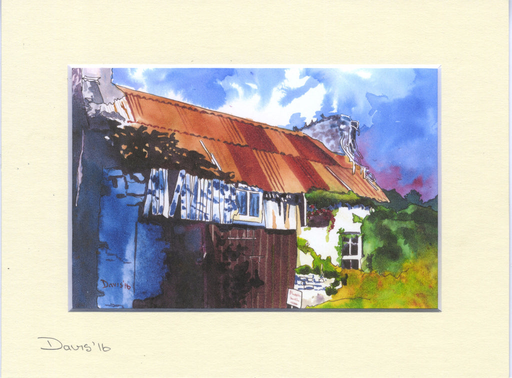 Derelict Cottage 2 - The Art of Phil Davis