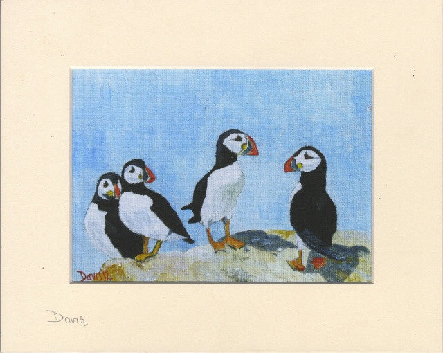 Puffins - The Art of Phil Davis