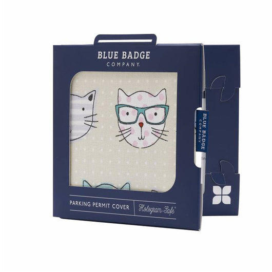 Blue Badge Permit Cover Cool Cats