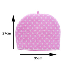 Load image into Gallery viewer, Old Harbor Pink and White Polka dots Tea Cozy (27 x 35 cm)