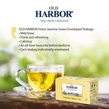 Load image into Gallery viewer, Old Harbor Jasmine Green Tea 25 Tea Bags