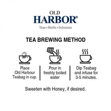 Load image into Gallery viewer, Old Harbor Earl Grey Tea 25 Tea Bags