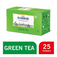 Load image into Gallery viewer, Old Harbor Green Tea 25 Tea Bags (Green)