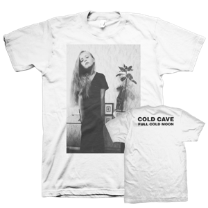 COLD CAVE - Full Cold Moon T-shirt