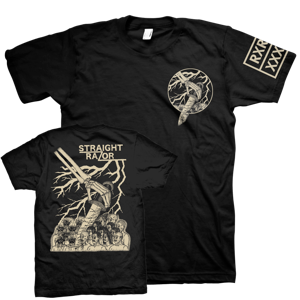 STRAIGHT RAZOR - Decapitation T-Shirt