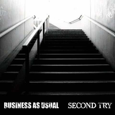 BUSINESS AS USUAL / SECOND TRY split 7""