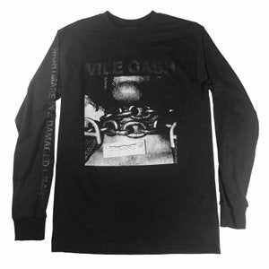 VILE GASH - nightmare in a damaged brain LONG SLEEVE