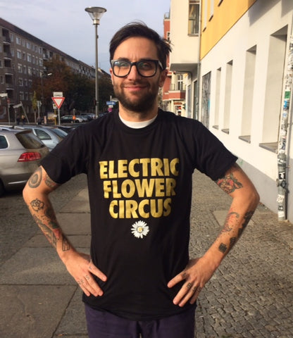 GIVE - electric flower circus T-SHIRT