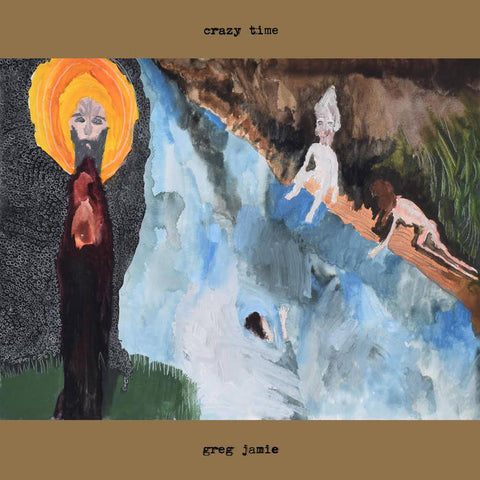 GREG JAMIE - crazy time LP