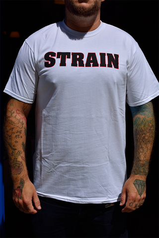 STRAIN - Our Crime Is Humanity SHIRT