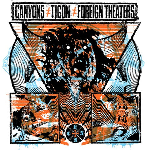 CANYONS / TIGON / FOREIGN THEATERS - split LP