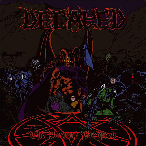 DECAYED - The Ancient Brethren CD