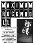 MAXIMUMROCKNROLL - #392 | January 2016 MAG