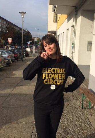 GIVE - electric flower circus CREW NECK