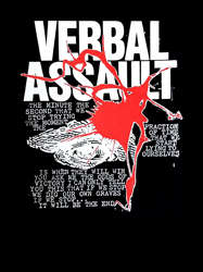 VERBAL ASSAULT - Never Stop! SHIRT