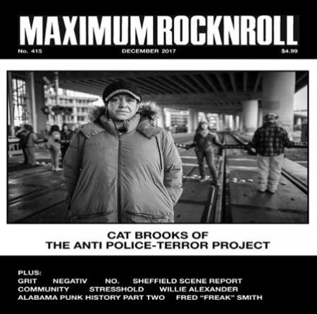 MAXIMUM ROCK N ROLL - #415 | December 2017 MAG