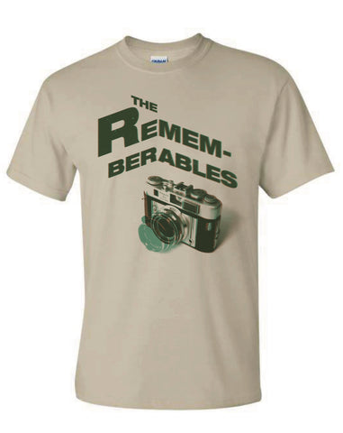 THE REMEMBERABLES - camera T-shirt