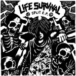 INSTINCT OF SURVIVAL / LIFE - split 7""