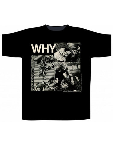 DISCHARGE - Why T-SHIRT