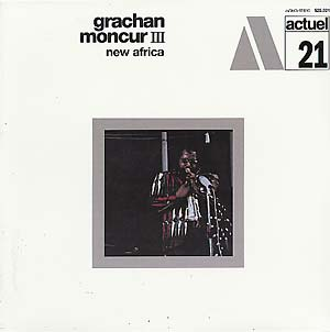 GRACHAN MONCUR III - New Africa LP