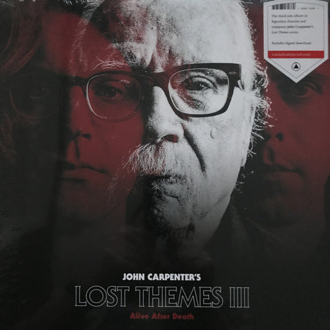 JOHN CARPENTER - Lost Themes III: ALIVE AFTER DEATH LP