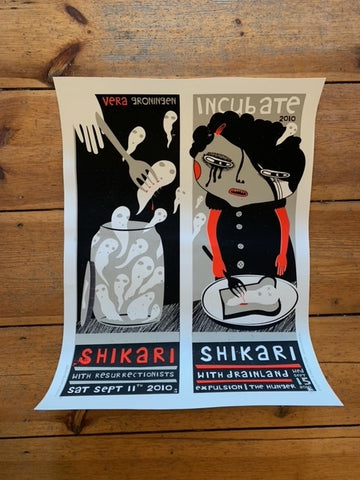 SHIKARI - Screenprinted Poster