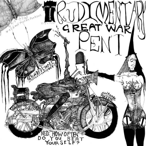 RUDIMENTARY PENI - Great War LP