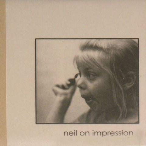 NEIL ON IMPRESSION - For A New Grammar Of Feelings LP