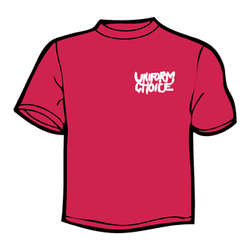 UNIFORM CHOICE - Brick Wall (Red) T-shirt