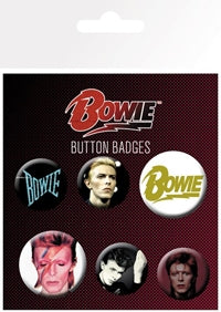 DAVID BOWIE - David Bowie BUTTON SET