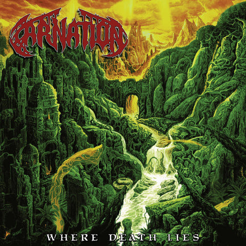 CARNATION - Where Death Lies LP (red vinyl)