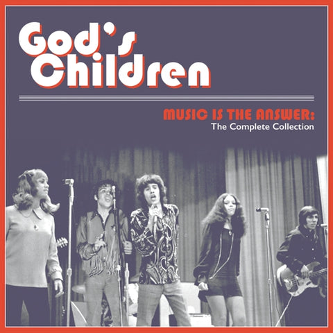 GOD'S CHILDREN - Music Is The Answer: The Complete Collection LP