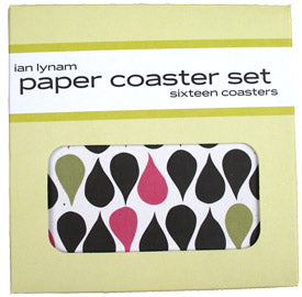 IAN LYNAM - Bricks and Drips Coaster Pack