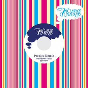 PEOPLE'S TEMPLE - brand new thing 7""
