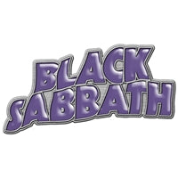 Black Sabbath - logo PIN