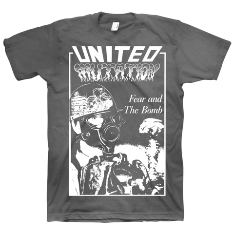 UNITED MUTATION - Fear And The Bomb T-shirt